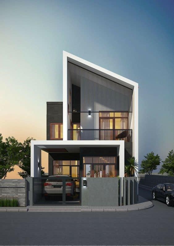 nhà phố thiết kế độc đáo