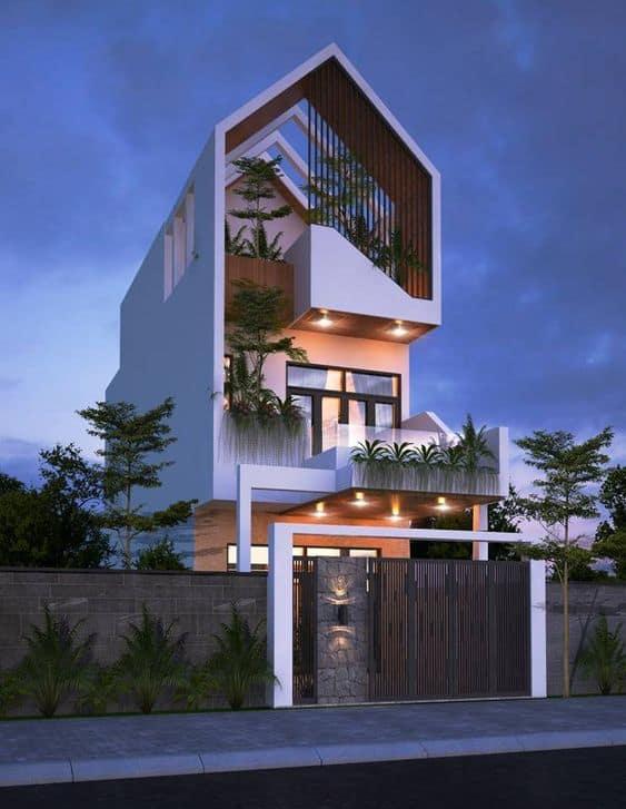 Mẫu Nhà 3 tầng Đẹp 2020 | Xu Hướng Thiết kế Nhà 3 Tầng 2020
