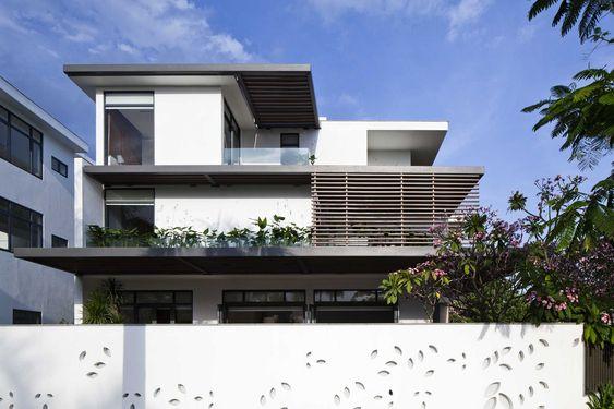 Biệt thự kiến trúc hiện đại