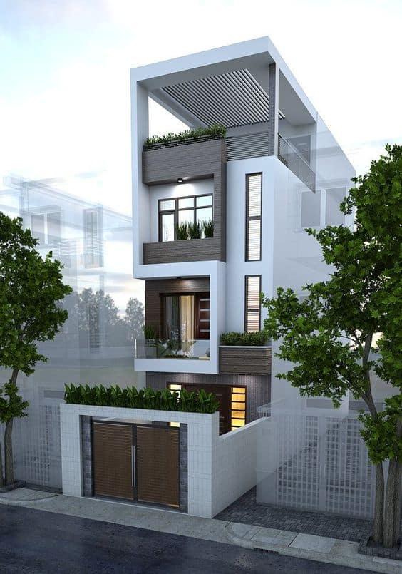 nhà phố thiết kế sang trọng