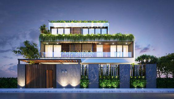 Không gian được thiết kế tràn ngập màu xanh của cây cỏ
