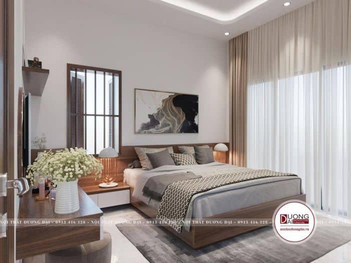 mẫu phòng ngủ thiết kế mở, tiện nghi