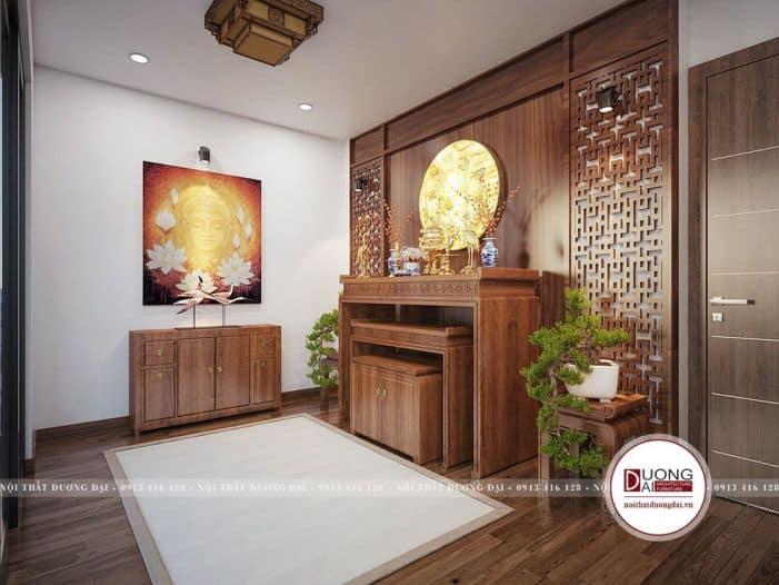 nội thất phòng thờ gỗ tự nhiên
