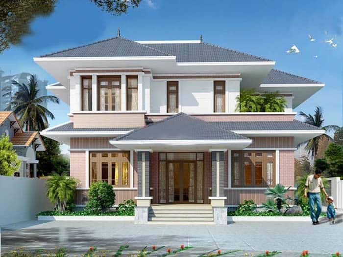 Giải pháp xây dựng mái thái sang trọng, ấm áp và tối ưu kinh phí