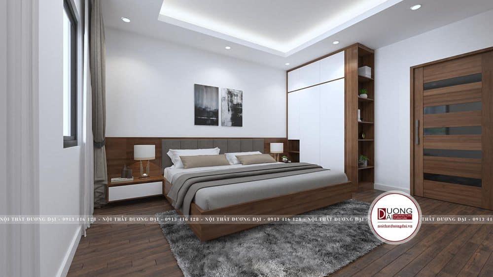 Thiết kế phòng ngủ phụ 3 đơn giản nhưng đầy đủ công năng