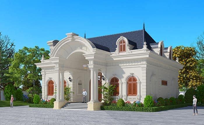 Biệt thự sang trọng với mái vòm lớn siêu đồ sộ được thiết kế tinh xảo