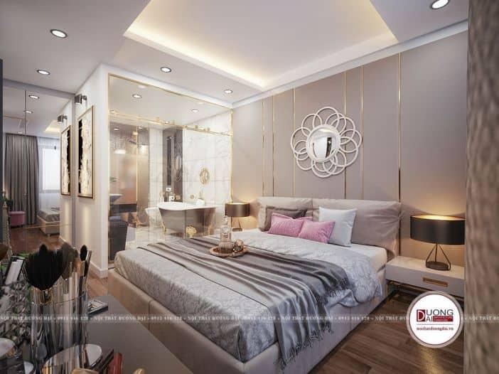 phòng ngủ lớn nội thất tiện nghi