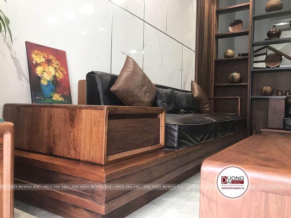 Gỗ óc cho được thi công ti mỉ cho bộ sofa