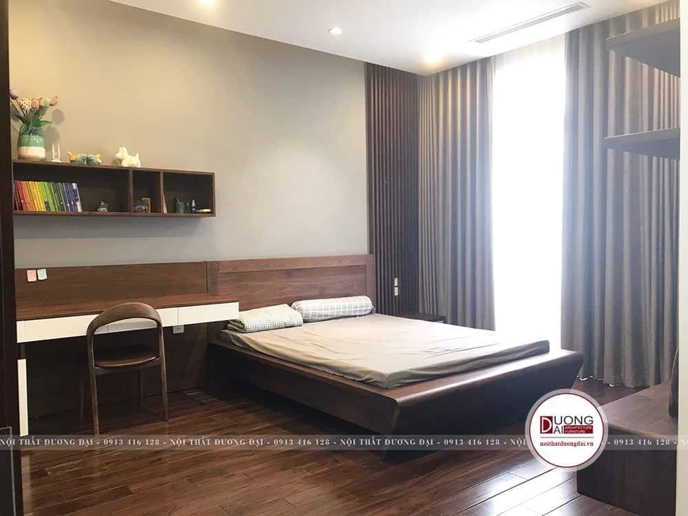 Phòng ngủ bé trai lịch sự và trang nhã