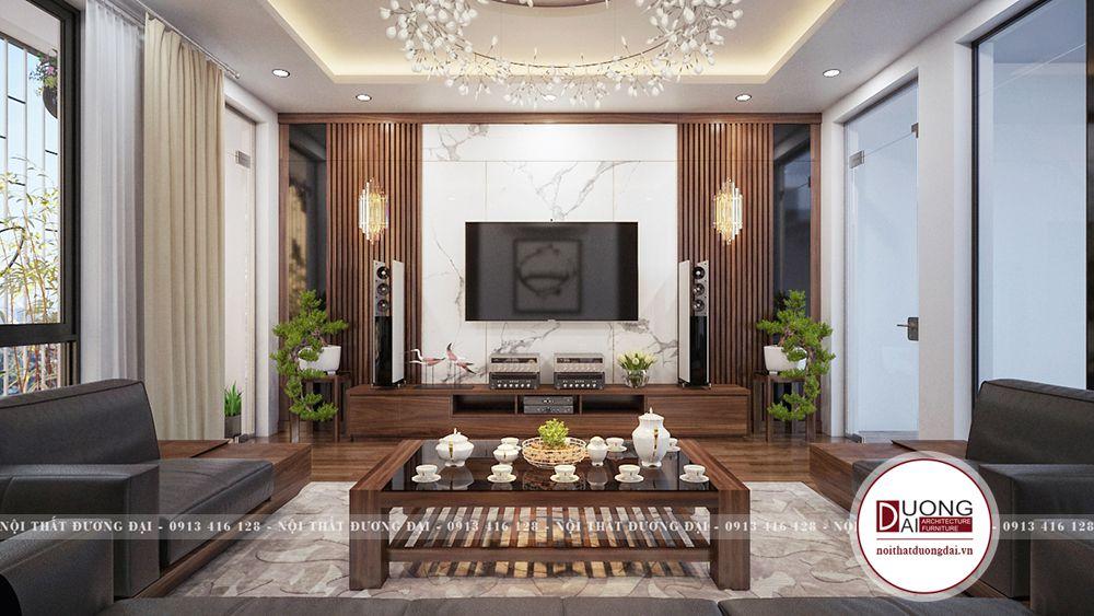 Thiết kế nội thất tại Bắc Giang với nhà phố 3 tầng