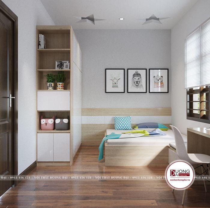 Thiết kế nội thất Việt Trì Phú Thọ nhà phố 2 tầng