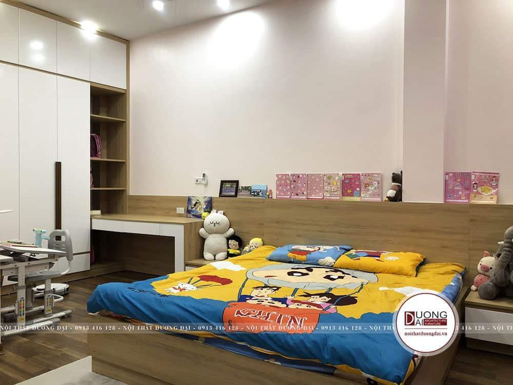 Phòng ngủ bé tinh nghịch và đáng yêu