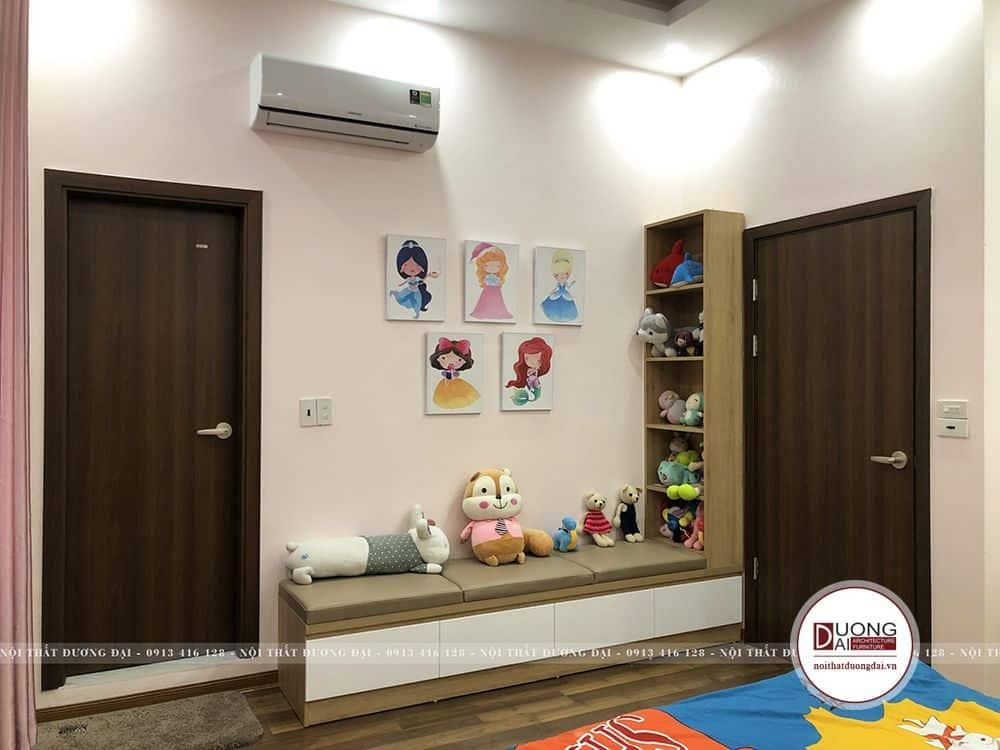 Thiết kế phòng ngủ tiện nghi với nội thất gỗ