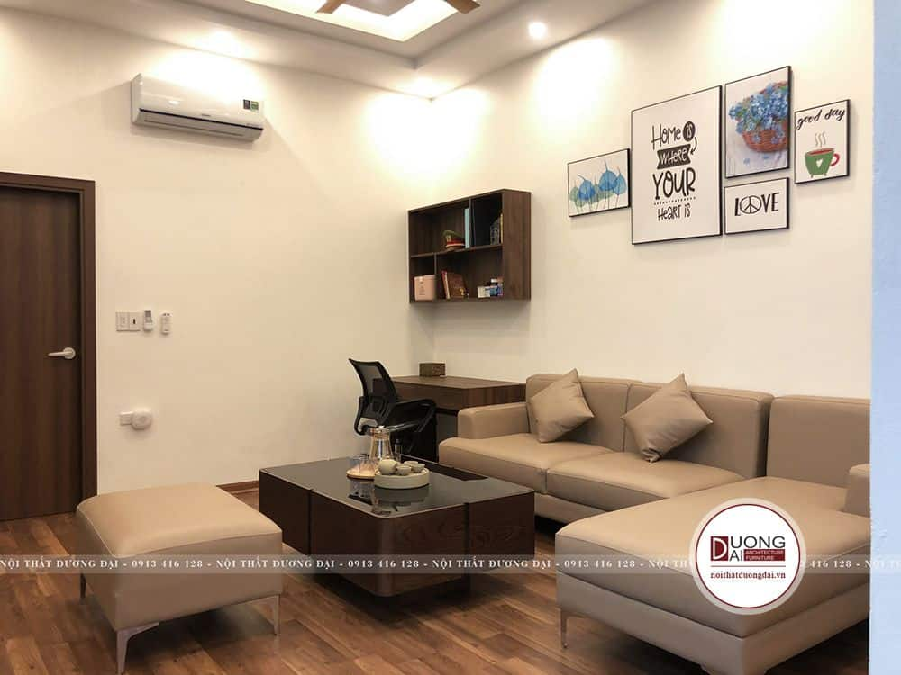 Thi công nội thất tại Bắc Ninh của nhà anh Võ