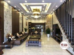 Thi công nội thất nhà anh Võ tại Bắc Ninh