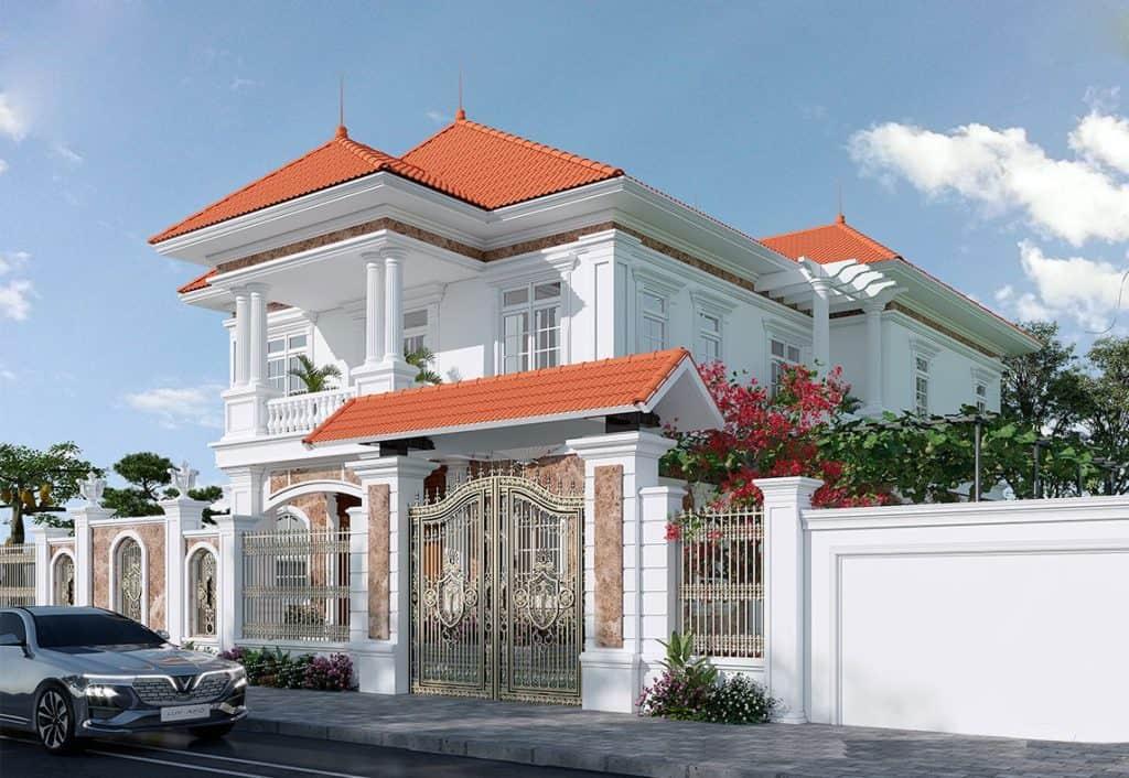 Ý tưởng thiết kế nội thất biệt thự 7x14m 3 tầng tân cổ điển