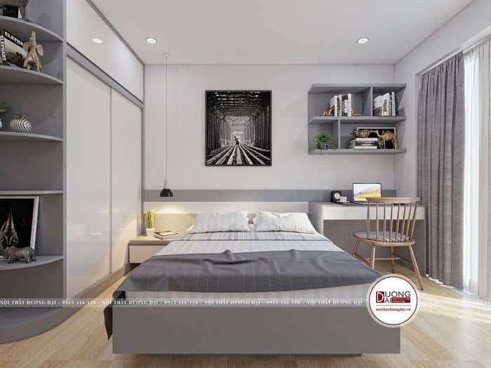 Phòng ngủ sang trọng và ấn tượng của gia chủ