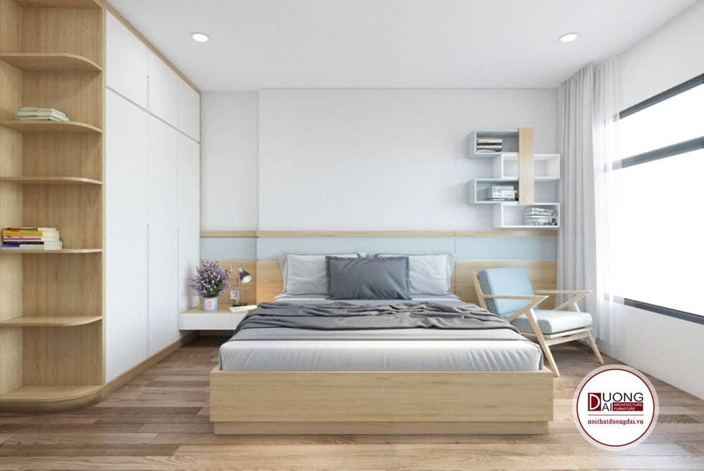 Thiết kế phòng ngủ đầy thư giãn cho gia chủ