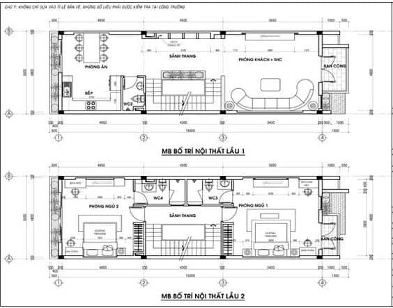 Thiết Kế Nhà 4x18m, Tư Vấn Trọn Gói Nhà 72m2 2 Tầng Đẹp