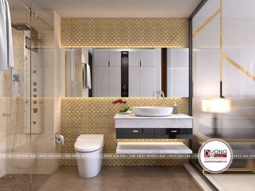nội thất phòng vệ sinh sang trọng