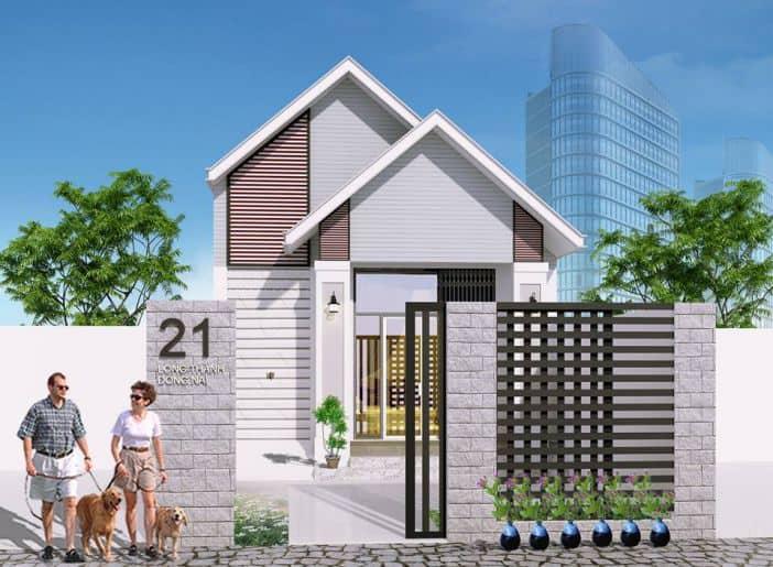 Thiết kế nhà vườn 150m2 hiện đại, đẹp và sang trọng