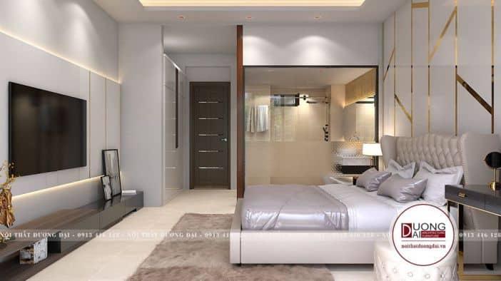 Thiết Kế Nhà Vườn 10x20m 1 Tầng 4 Phòng Ngủ Đẹp và Sang Trọng