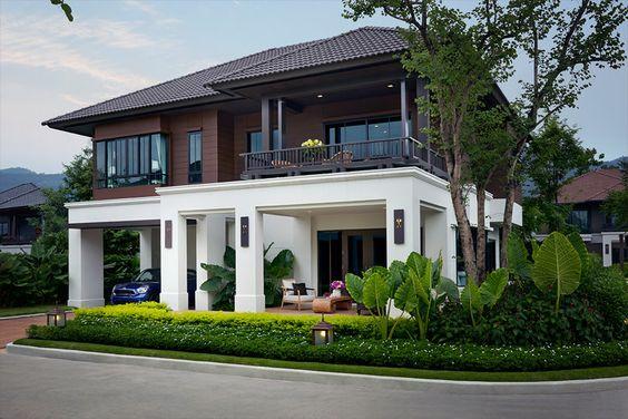 nhà 2 tầng có sân vườn