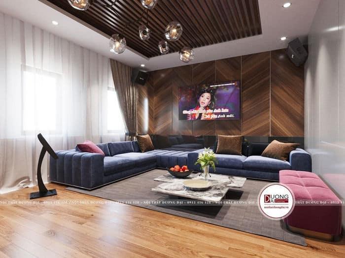 Phòng karaoke siêu hiện đại cho biệt thự cao cấp