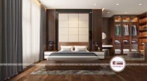 Phòng ngủ Master đẳng cấp với không gian nghỉ ngơi lý tưởng