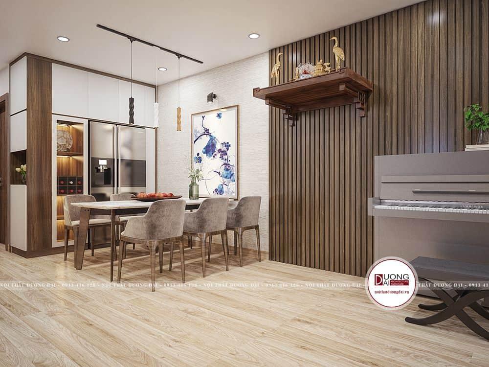 Thiết kế nội thất chung cư Viva Riverside đẹp với không gian mở