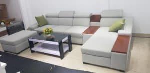 Bàn Ghế Sofa Chữ L | Bàn Giao Cho Chị Nga Ở Long Biên Hà Nội
