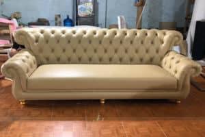 Ghế Sofa Văng Da | Bàn Giao Cho Cô Phượng Ở Ba Đình Hà Nội