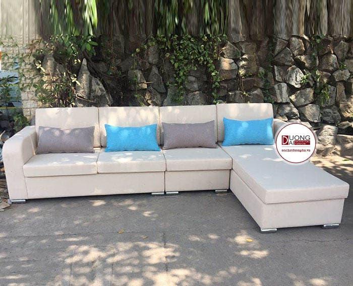 Sofa Góc Bằng Da | Bàn Giao Cho Anh Nam Ở Bắc Ninh