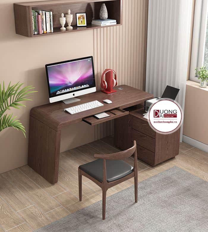 Thiết kế bàn có hộc tủ lớn để đựng tài liệu