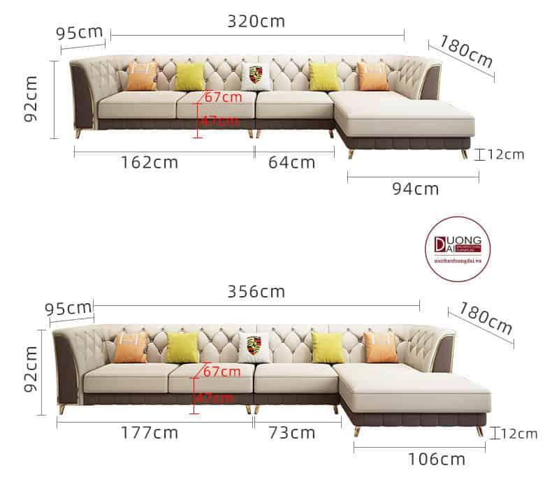 Ghế Sofa Da- SKYGD1004