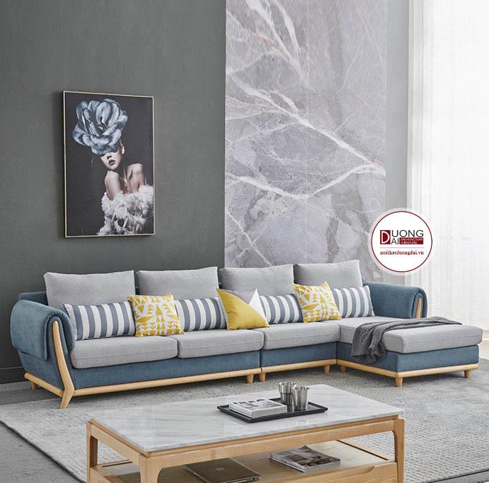 Mẫu Ghế Sofa Chữ L- SKYGN1008