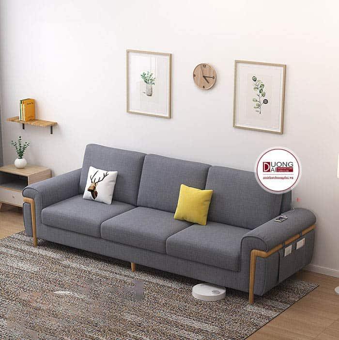 Sofa 1 Ghế Dài 3, 4 Chỗ Chất Liệu Nỉ Hàn Quốc Cho Phòng Khách