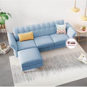 Sofa 1m8 Văng Nỉ Đơn Giản Cho Phòng Khách Căn Hộ Nhỏ