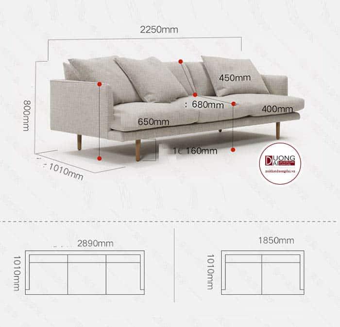 Sofa Ghế Dài | Thiết Kế Đơn Giản, Sang Trọng Cho Phòng Khách