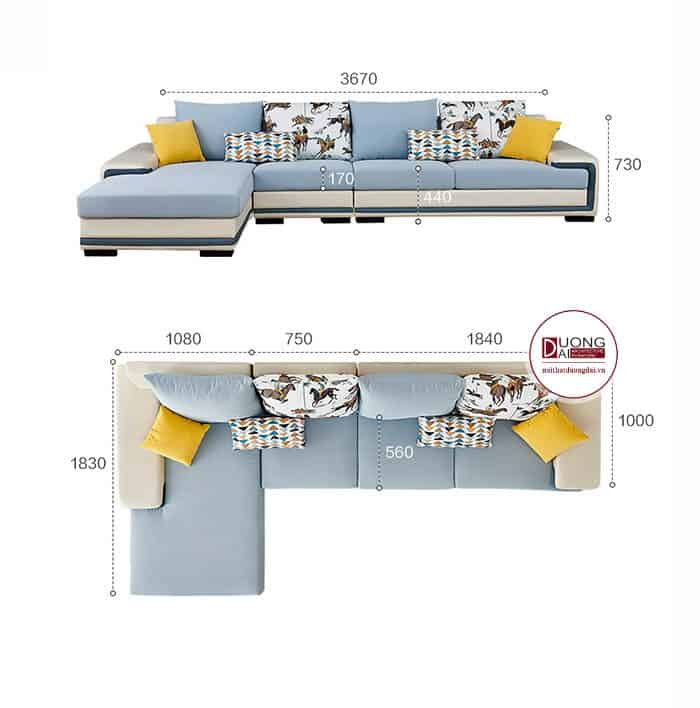 Sofa Góc Trái- SKYG1003