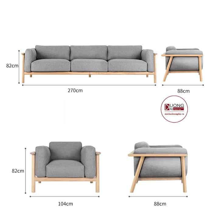 Sofa Văng Gỗ Giá Rẻ | Thiết Kế Hiện Đại Cho Không Gian Nhỏ
