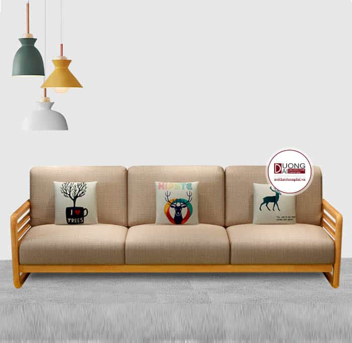 Sofa Văng Gỗ Hiện Đại - Xu Hướng Kết Hợp Độc Đáo Cho Phòng Khách