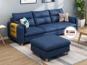 Sofa Văng Nỉ Giá Rẻ Milford | Thiết kế đơn giản và gọn nhẹ