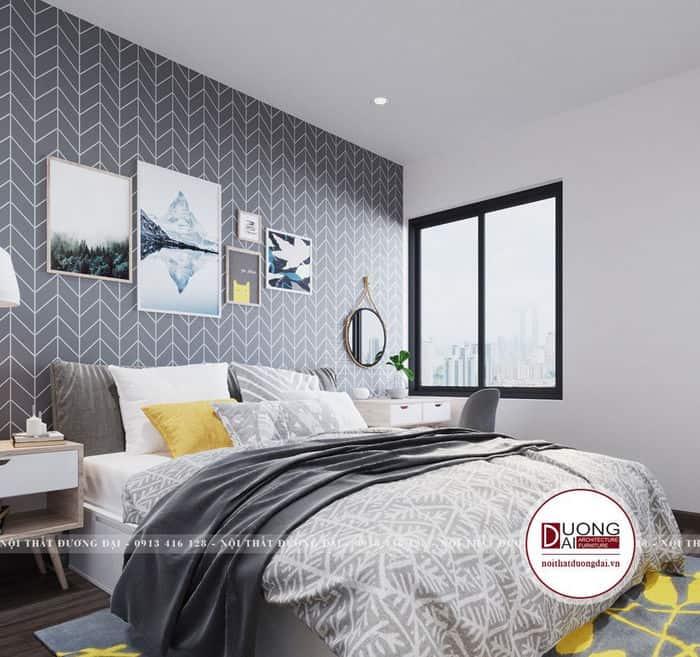Thiết kế phòng ngủ 8m2 nhỏ xinh và tiện nghi