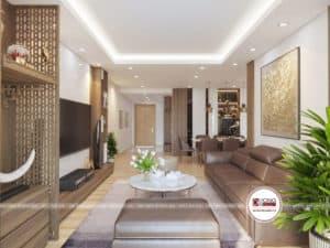 Thiết kế nội thất căn hộ 82 Nguyễn Tuân có phong cách hiện đại