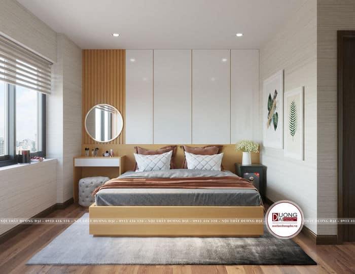 Bố trí phòng ngủ 3x3m tối ưu diện tích với nét đẹp hiện đại