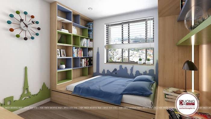 Trang trí phòng ngủ diện tích nhỏ   25+ Thiết kế độc đáo nhất