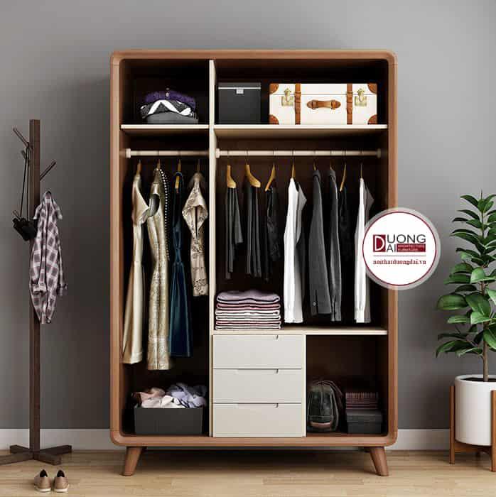 Mẫu thiết kế tủ quần áo đầy tiện nghi cho các gia chủ
