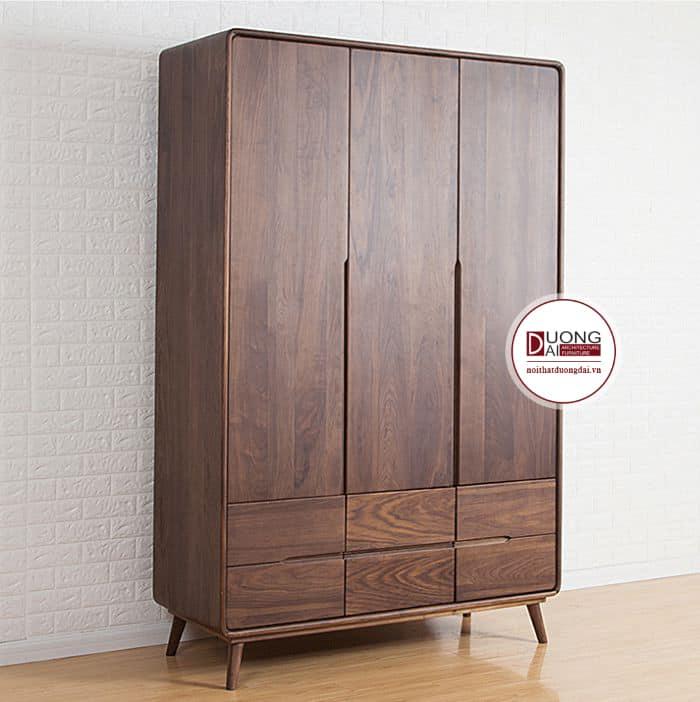 Mẫu tủ gỗ phù hợp cho những phòng ngủ nhỏ xinh