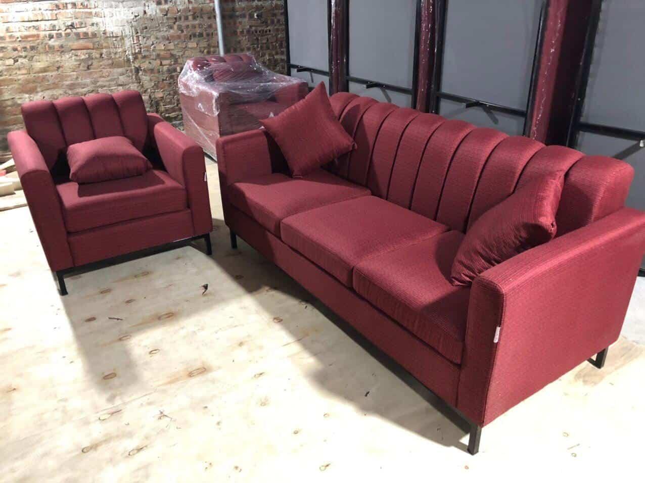 Bộ Sofa Nỉ Phòng Khách Sạn | Bàn Giao Cho Anh Hưng Ở Cầu Giấy